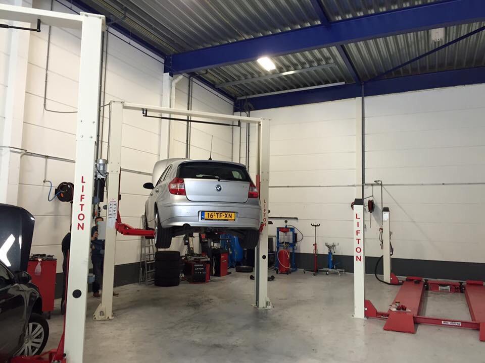 Auto Garage Beverwijk : Website autogarage s&e
